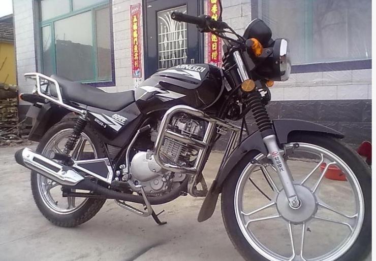 轻骑铃木qm125-3gs机_南昌二手摩托车