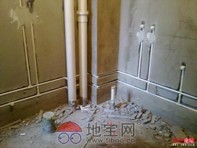 家庭水电路安装走线图
