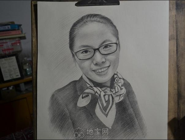 素描画像定制素描画纯手绘人物人像素描