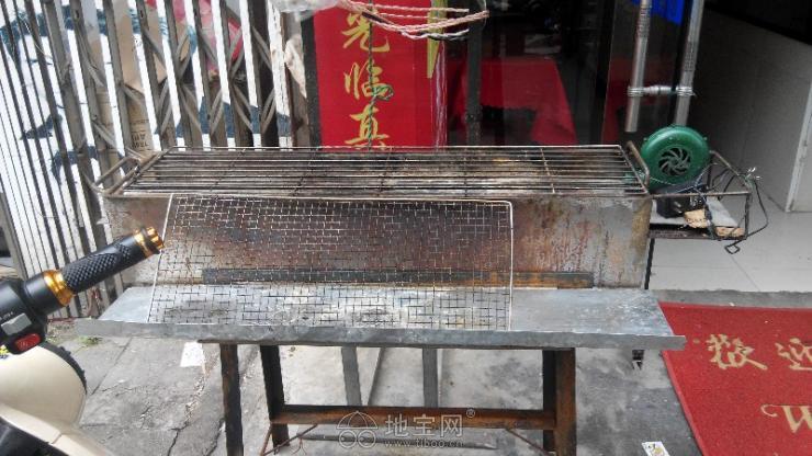 擺攤燒烤爐子設計圖展示